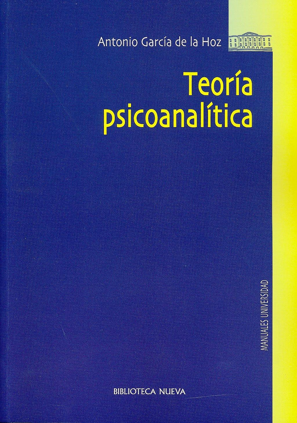 Portada del libro 9788499400617 Teoria Psicoanalitica