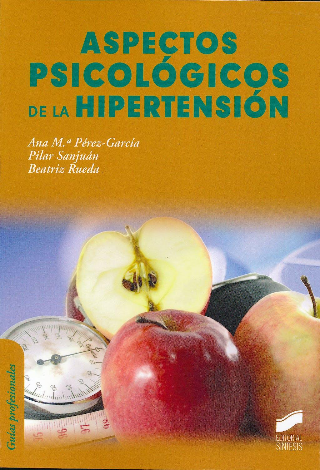 Portada del libro 9788499588186 Aspectos Psicologicos de la Hipertension