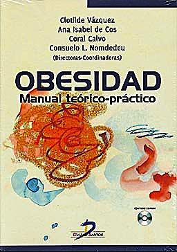 Portada del libro 9788499690223 Obesidad. Manual Teórico-Práctico + CD-ROM