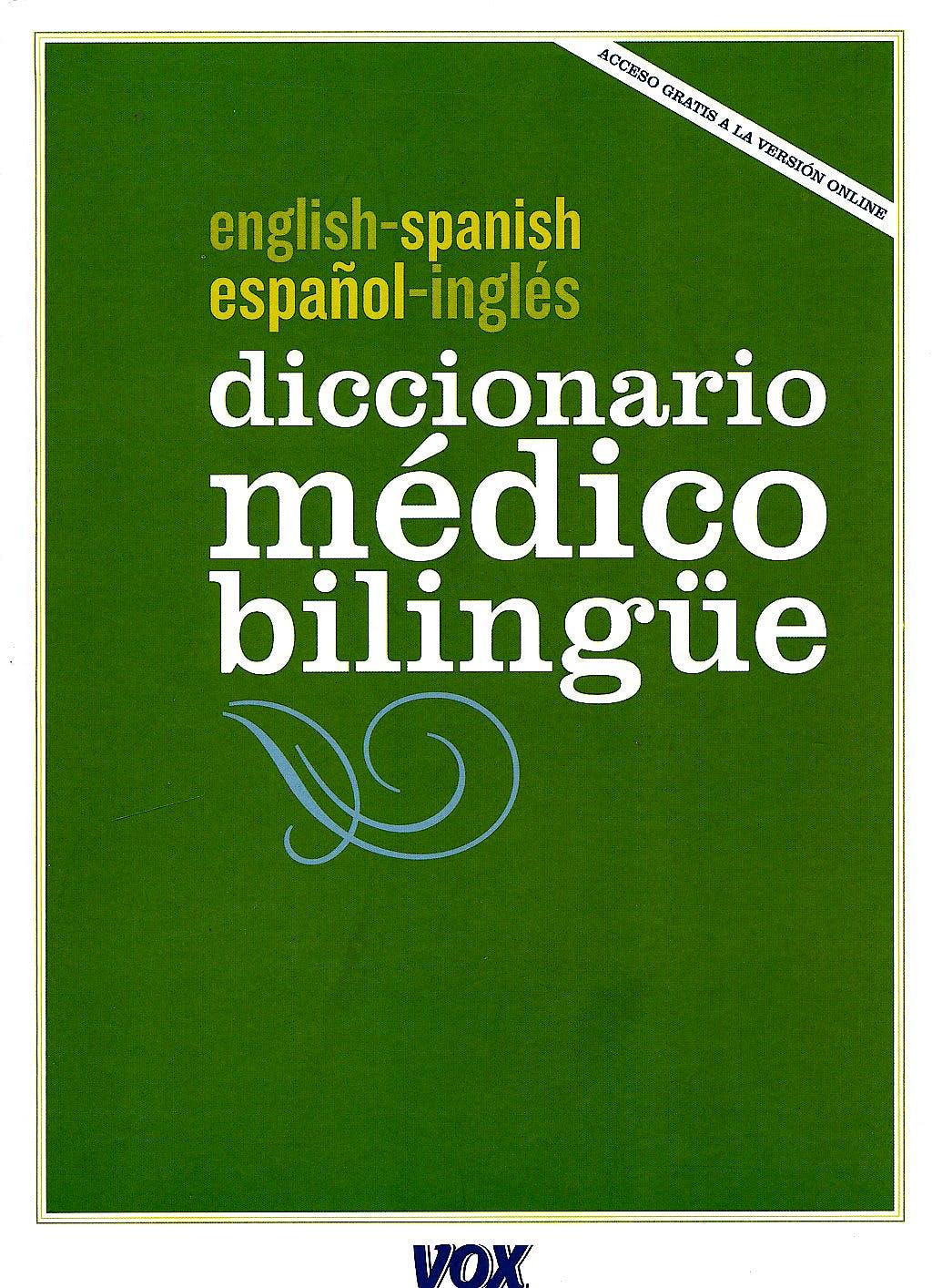 Portada del libro 9788499740263 Diccionario Medico Bilingüe Español-Ingles/english-Spanish + Acceso Online
