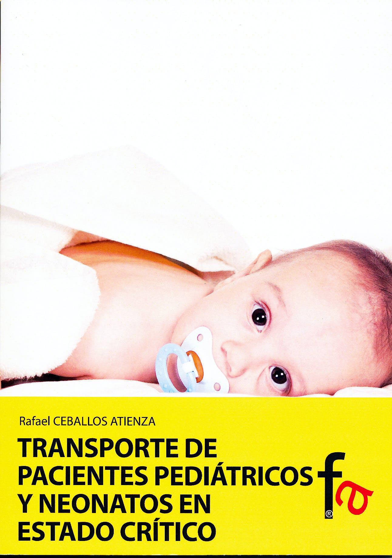 Portada del libro 9788499769967 Transporte de Pacientes Pediatricos y Neonatos en Estado Critico