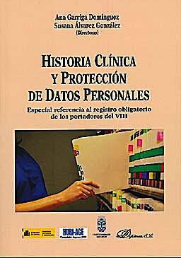 Portada del libro 9788499821030 Historia Clinica y Proteccion Datos Personales