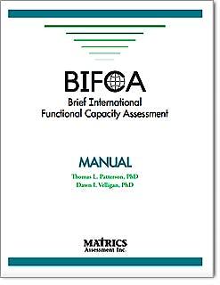 Portada del libro 9788586951091 BIFCA. Brief International Functional Capacity Assessment