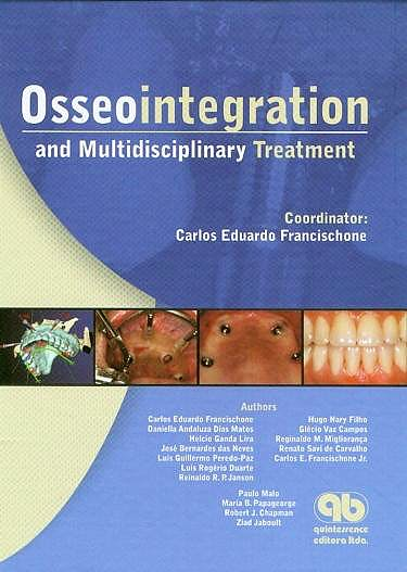 Portada del libro 9788587425768 Osseointegration and Multidisciplinary Treatment