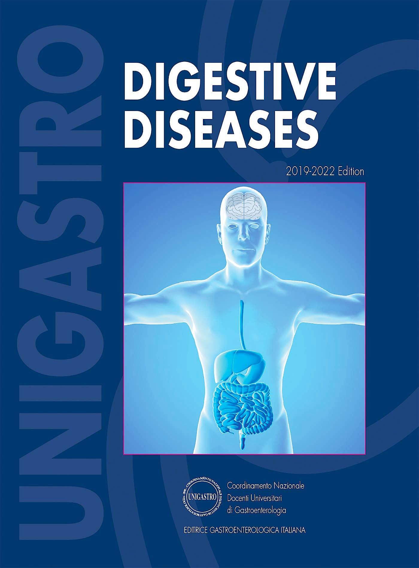 Portada del libro 9788821450471 Digestive Diseases 2019-2022