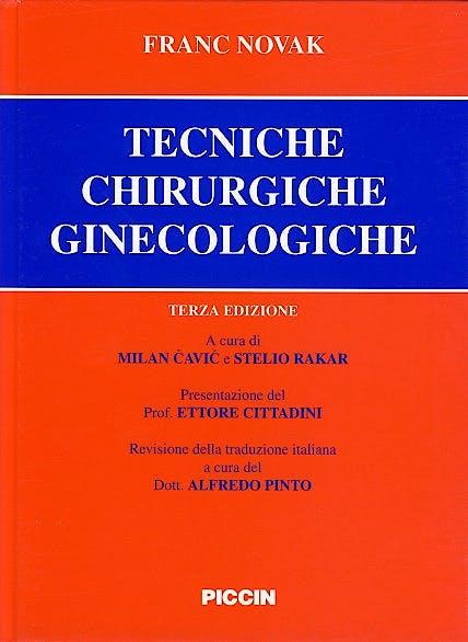 Portada del libro 9788829913916 Tecniche Chirurgiche Ginecologiche