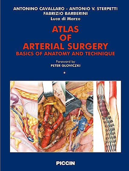 Portada del libro 9788829921317 Atlas of Arterial Surgery, 2 Vols.