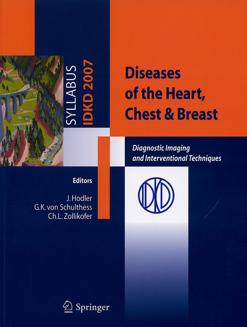 Portada del libro 9788847006324 Diseases of the Heart Chest and Breast