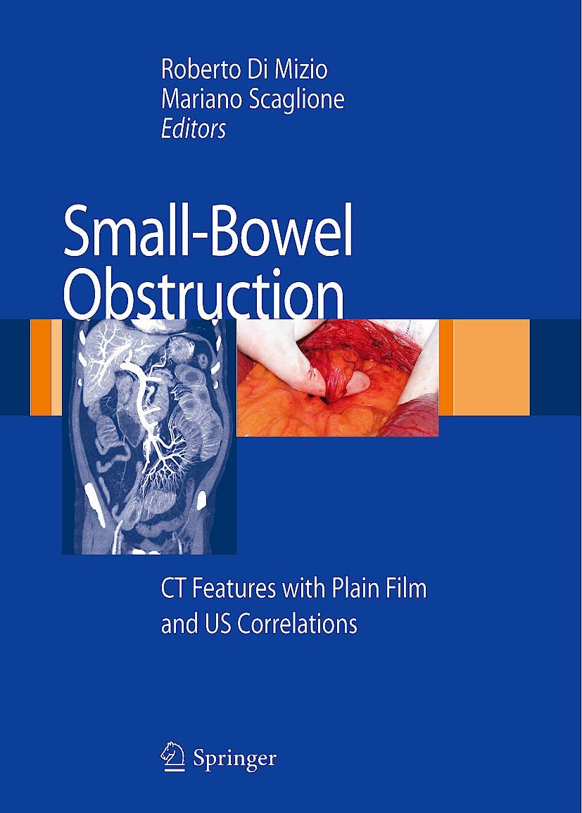 Portada del libro 9788847006669 Small-Bowel Obstruction