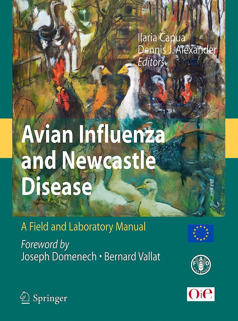 Portada del libro 9788847008250 Avian Influenza and Newcastle Disease + Cd-Rom