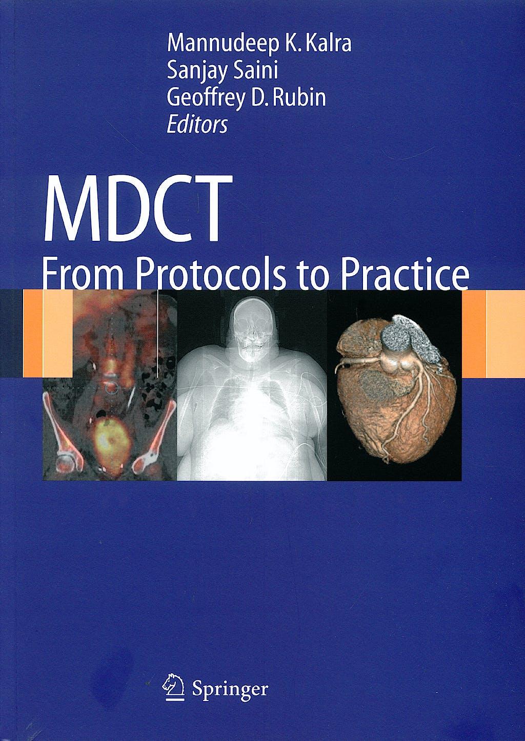 Portada del libro 9788847008311 MDCT from Protocols to Practice