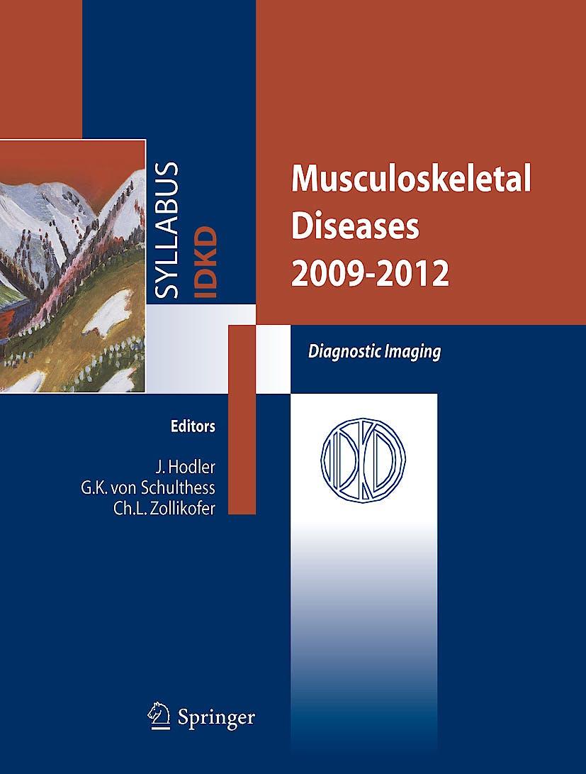 Portada del libro 9788847013773 Musculoskeletal Diseases 2009-2012. Diagnostic Imaging. 41st International Diagnostic Course in Davos (Idkd).