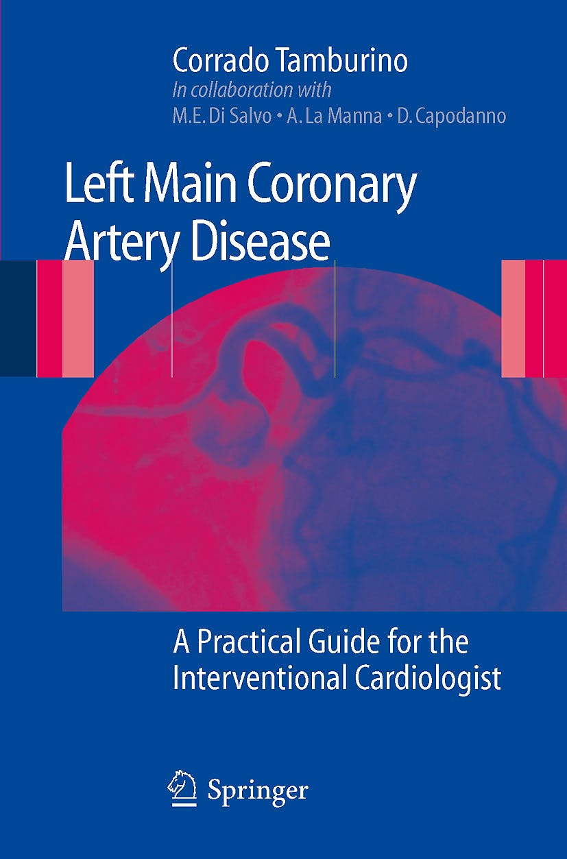 Portada del libro 9788847014299 Left Main Coronary Artery Disease. a Practical Guide for the Interventional Cardiologist