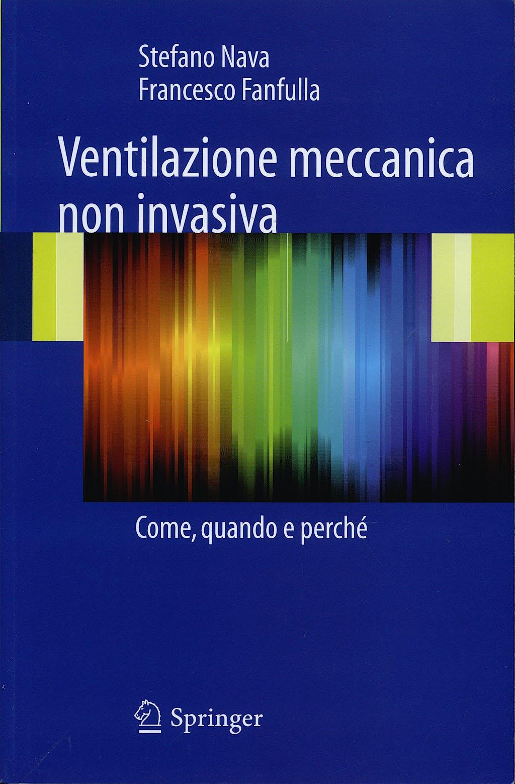 Portada del libro 9788847015470 Ventilazione Meccanica Non Invasiva