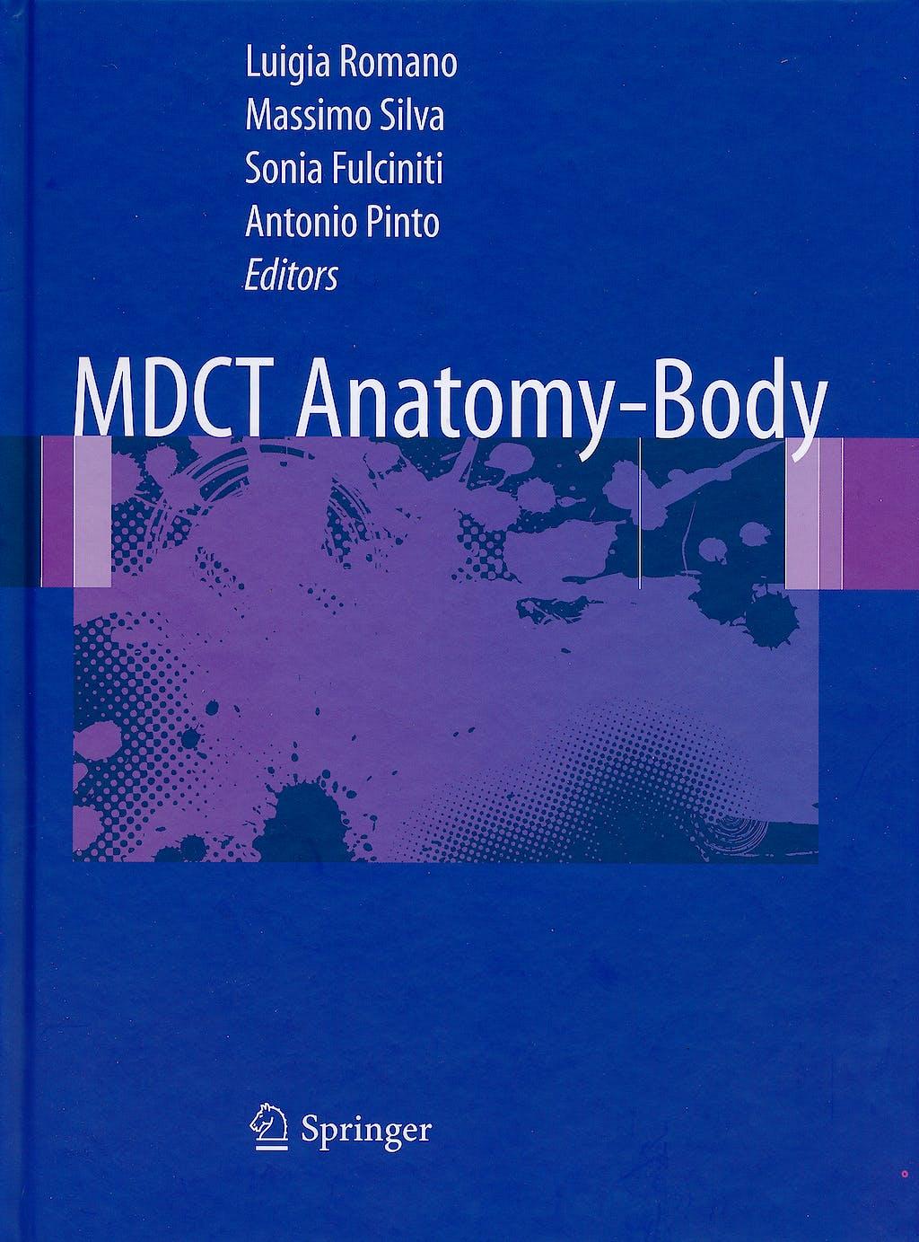 Portada del libro 9788847018778 MDCT Anatomy - Body