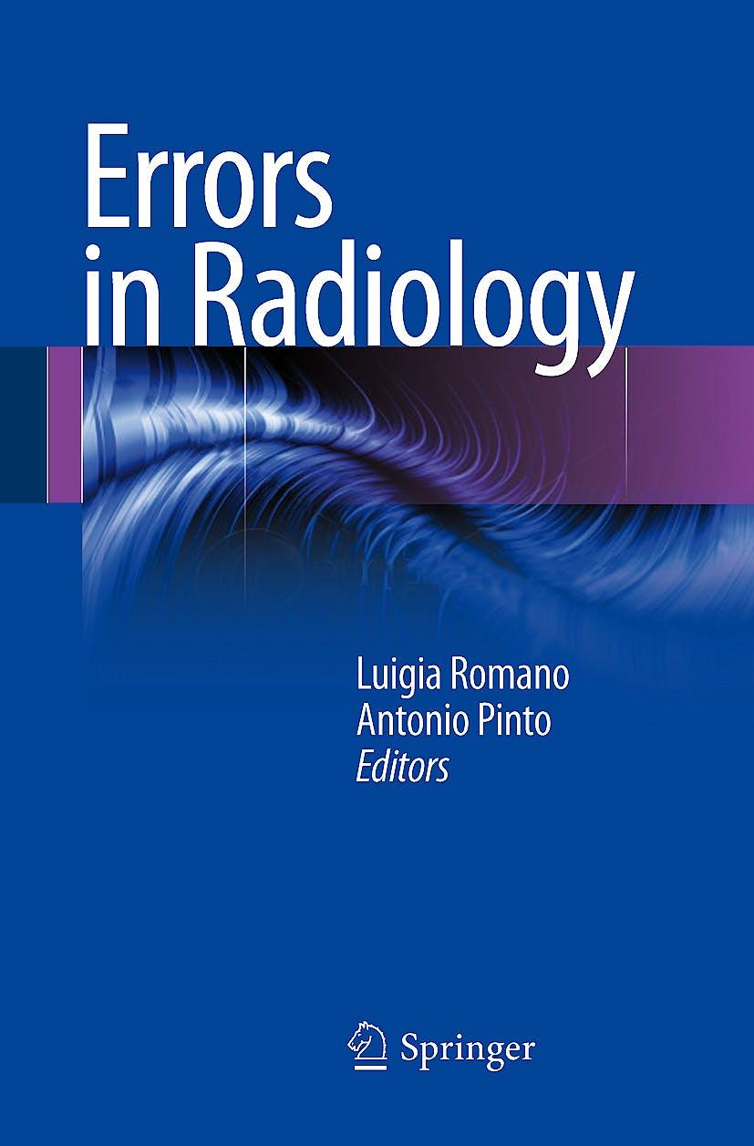 Portada del libro 9788847023383 Errors in Radiology