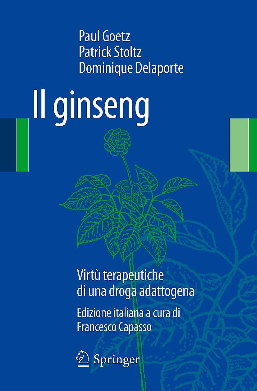 Portada del libro 9788847023901 Il Ginseng. Virtu Terapeutiche Di una Droga Adattogena