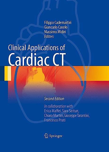 Portada del libro 9788847025219 Clinical Applications of Cardiac Ct