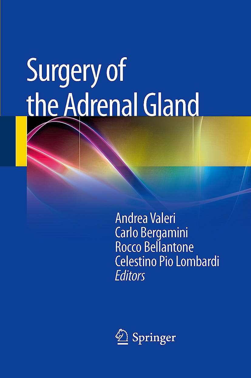 Portada del libro 9788847025851 Surgery of the Adrenal Gland