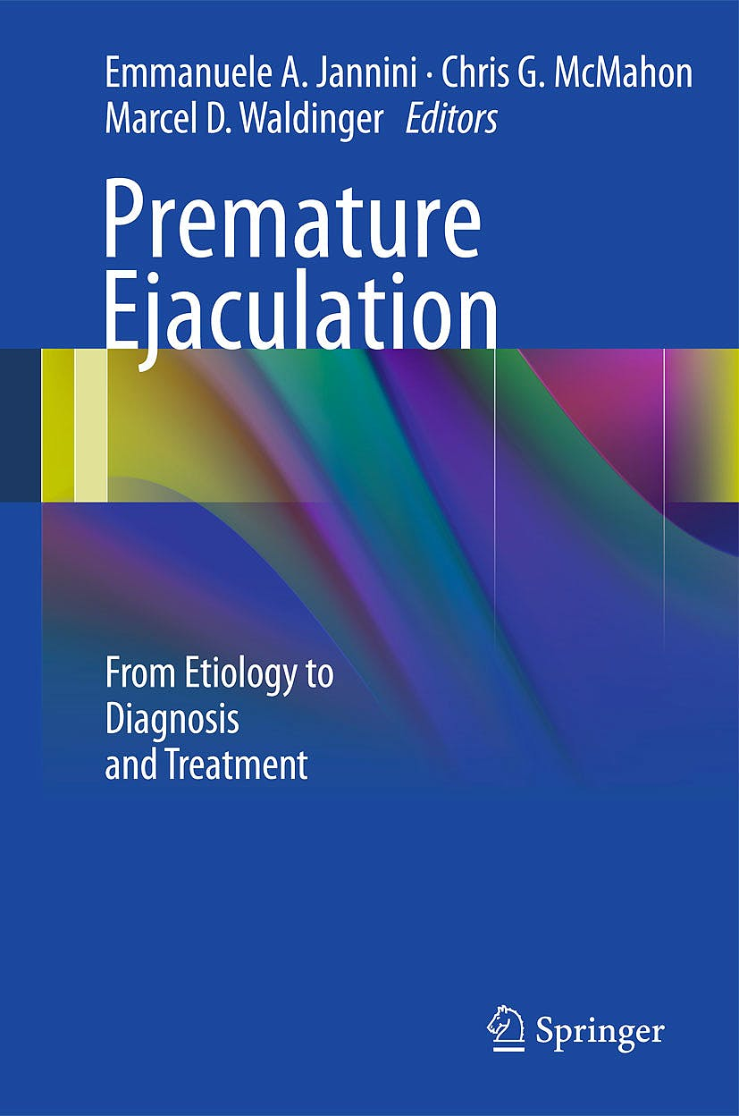 Portada del libro 9788847026452 Premature Ejaculation. from Etiology to Diagnosis and Treatment