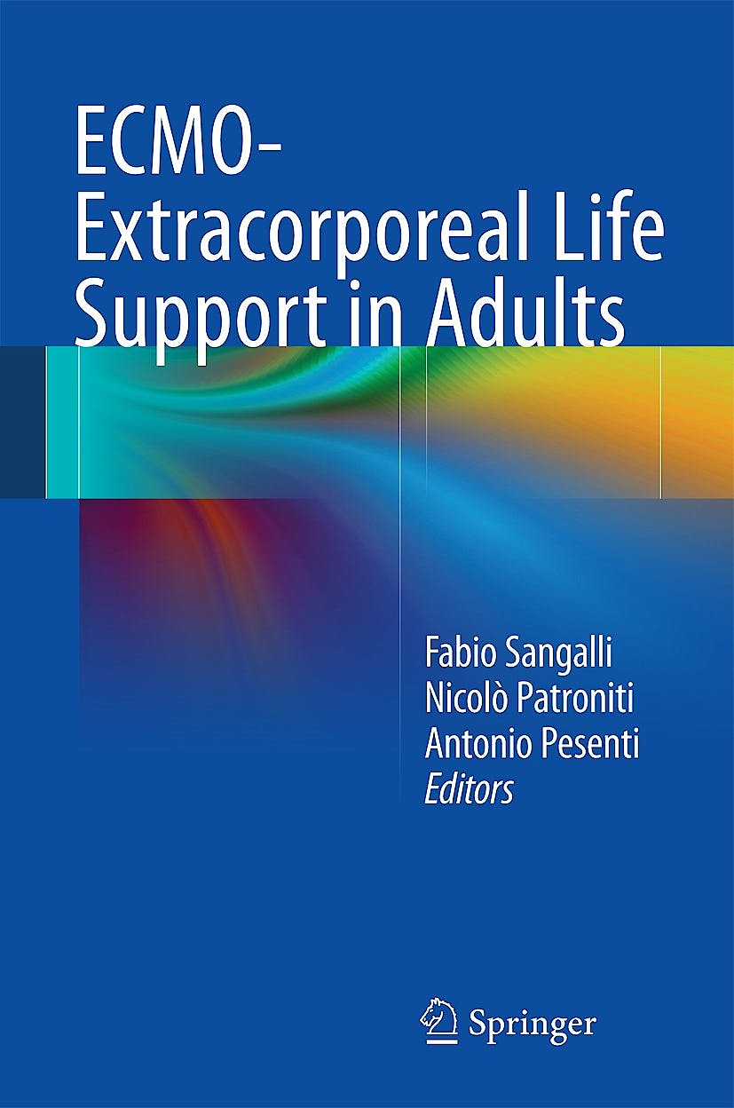 Portada del libro 9788847054264 Ecmo-Extracorporeal Life Support in Adults