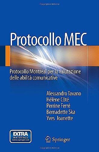 Portada del libro 9788847054554 Protocollo Mec. Protocollo Montreal Per la Valutazione Delle Abilita Comunicative
