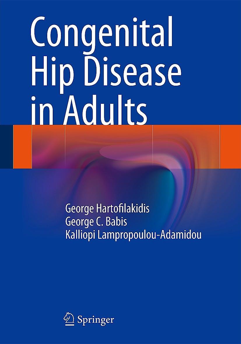 Portada del libro 9788847054912 Congenital Hip Disease in Adults
