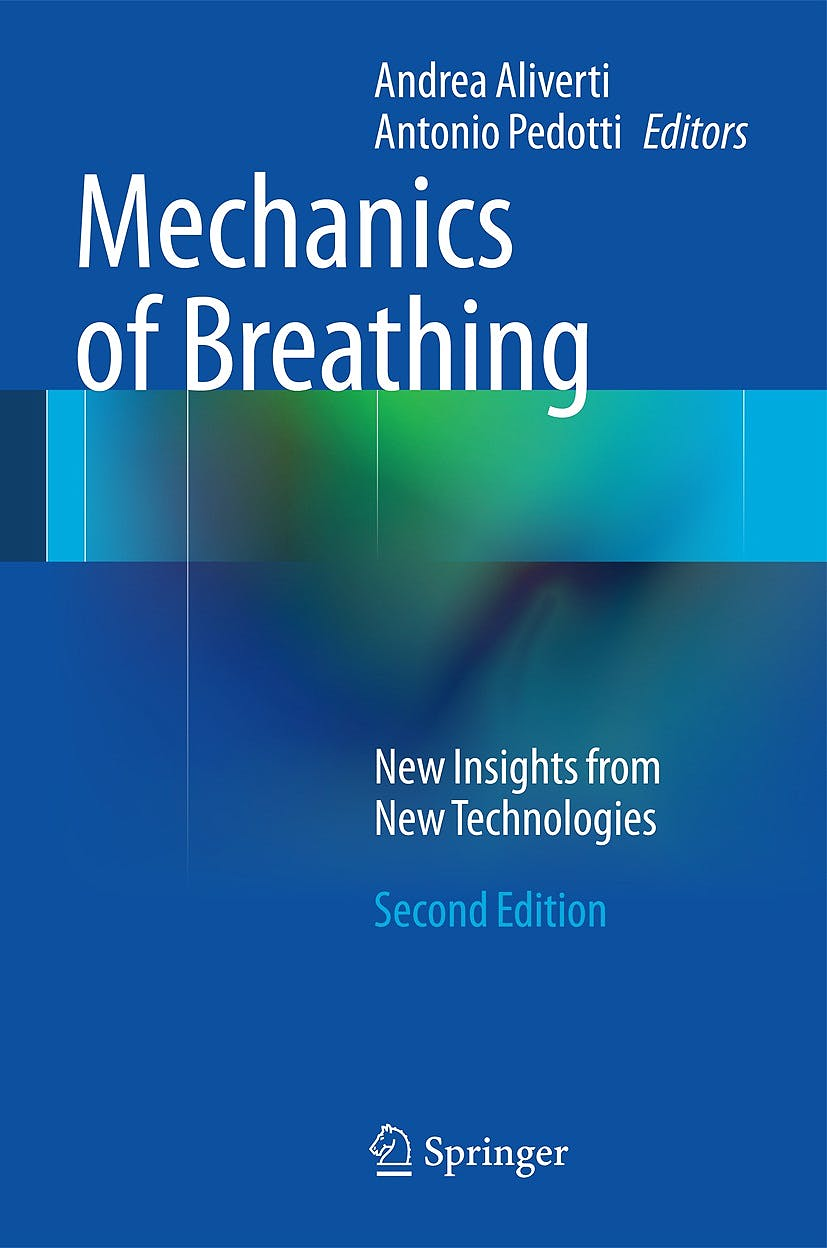 Portada del libro 9788847056466 Mechanics of Breathing. New Insights from New Technologies