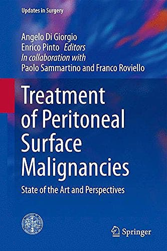 Portada del libro 9788847057104 Treatment of Peritoneal Surface Malignancies. State of the Art and Perspectives (Series: Updates in Surgery)