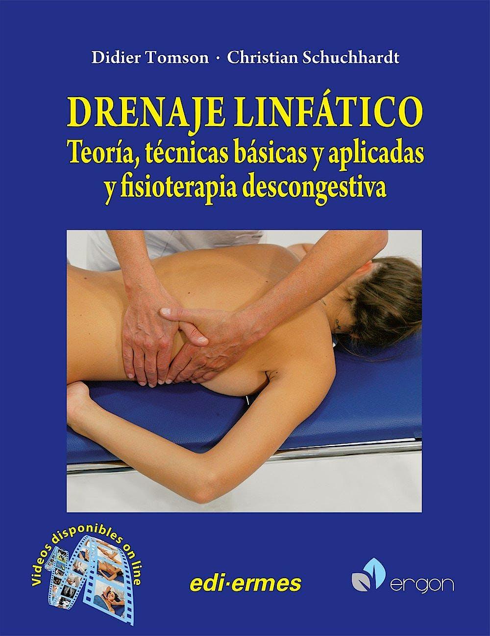 Portada del libro 9788870514759 Drenaje Linfático. Teoría' Técnicas Básicas y Aplicadas y Fisioterapia Descongestiva + Videos Online