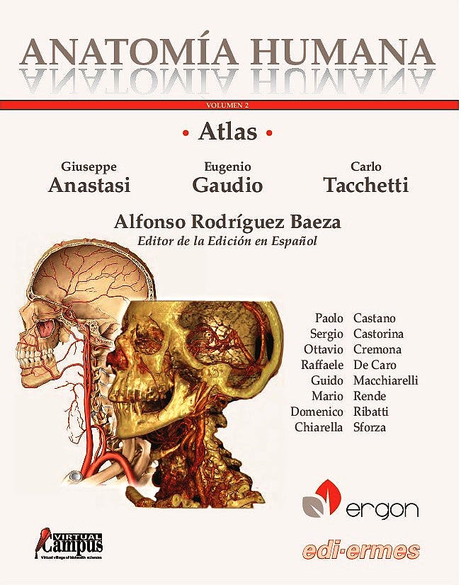 Portada del libro 9788870515480 Atlas de Anatomía Humana, Vol. 2 + Acceso Online