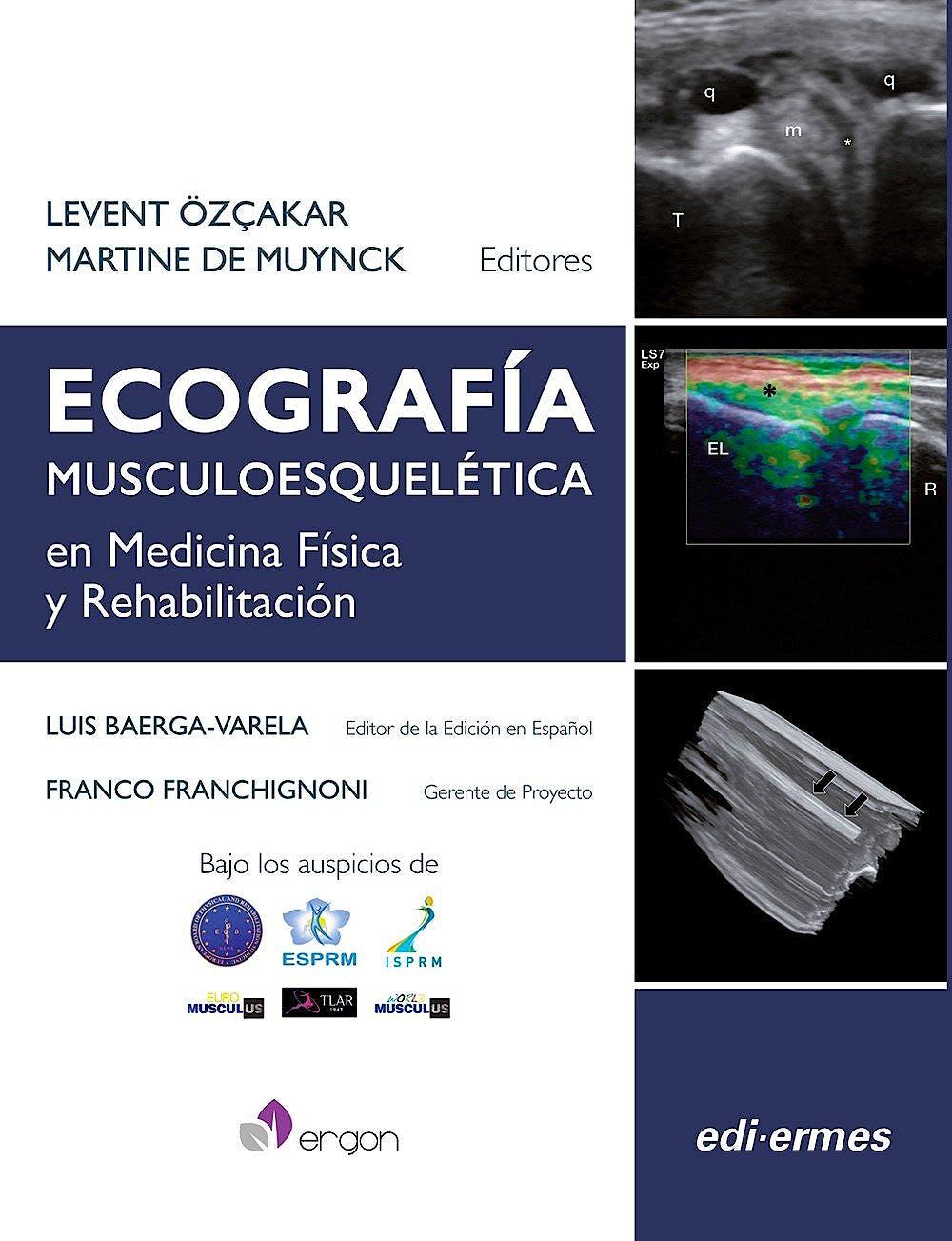 Portada del libro 9788870515534 Ecografía Musculoesquelética en Medicina Física y Rehabilitación