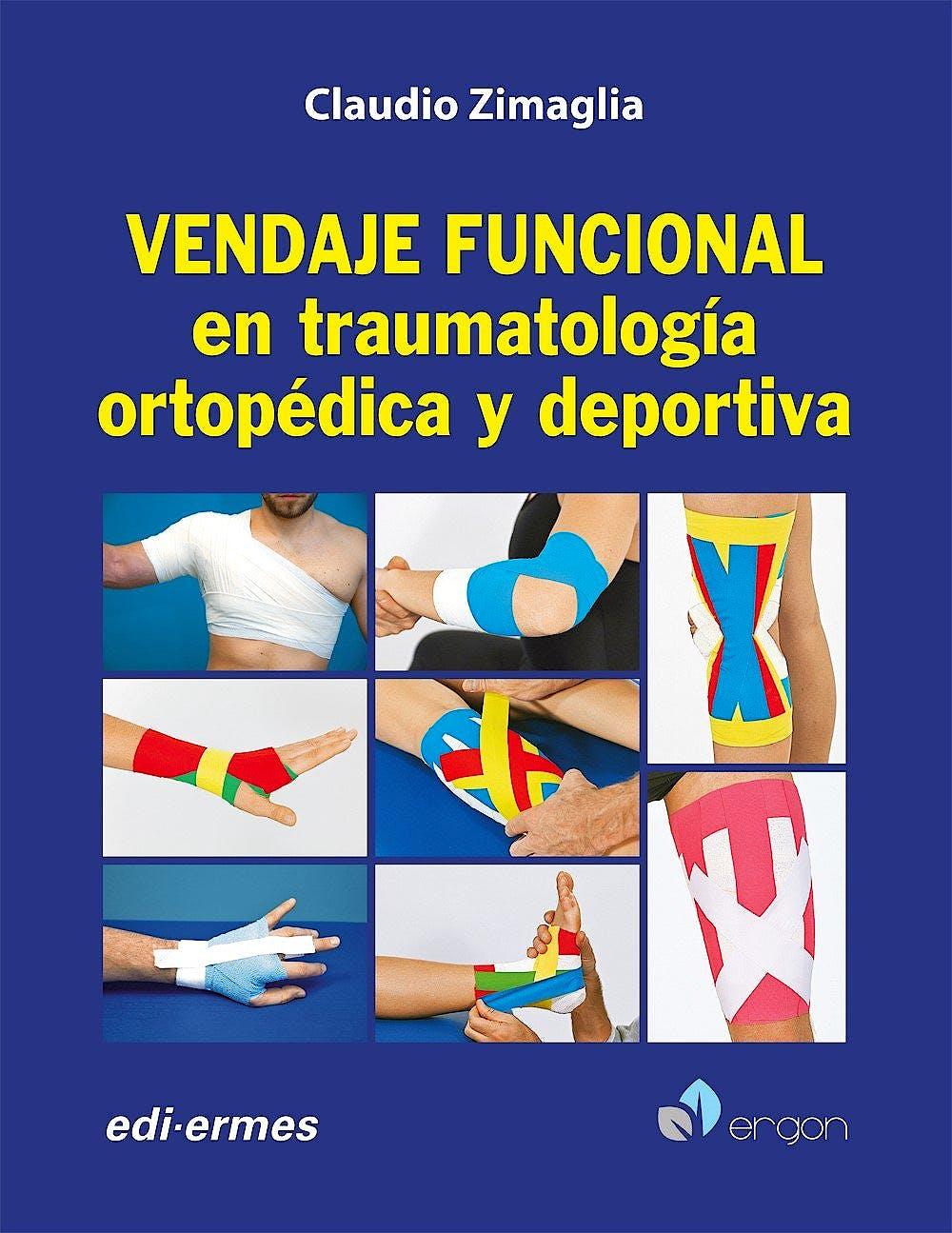 Portada del libro 9788870515732 Vendaje Funcional en Traumatología Ortopédica y Deportiva