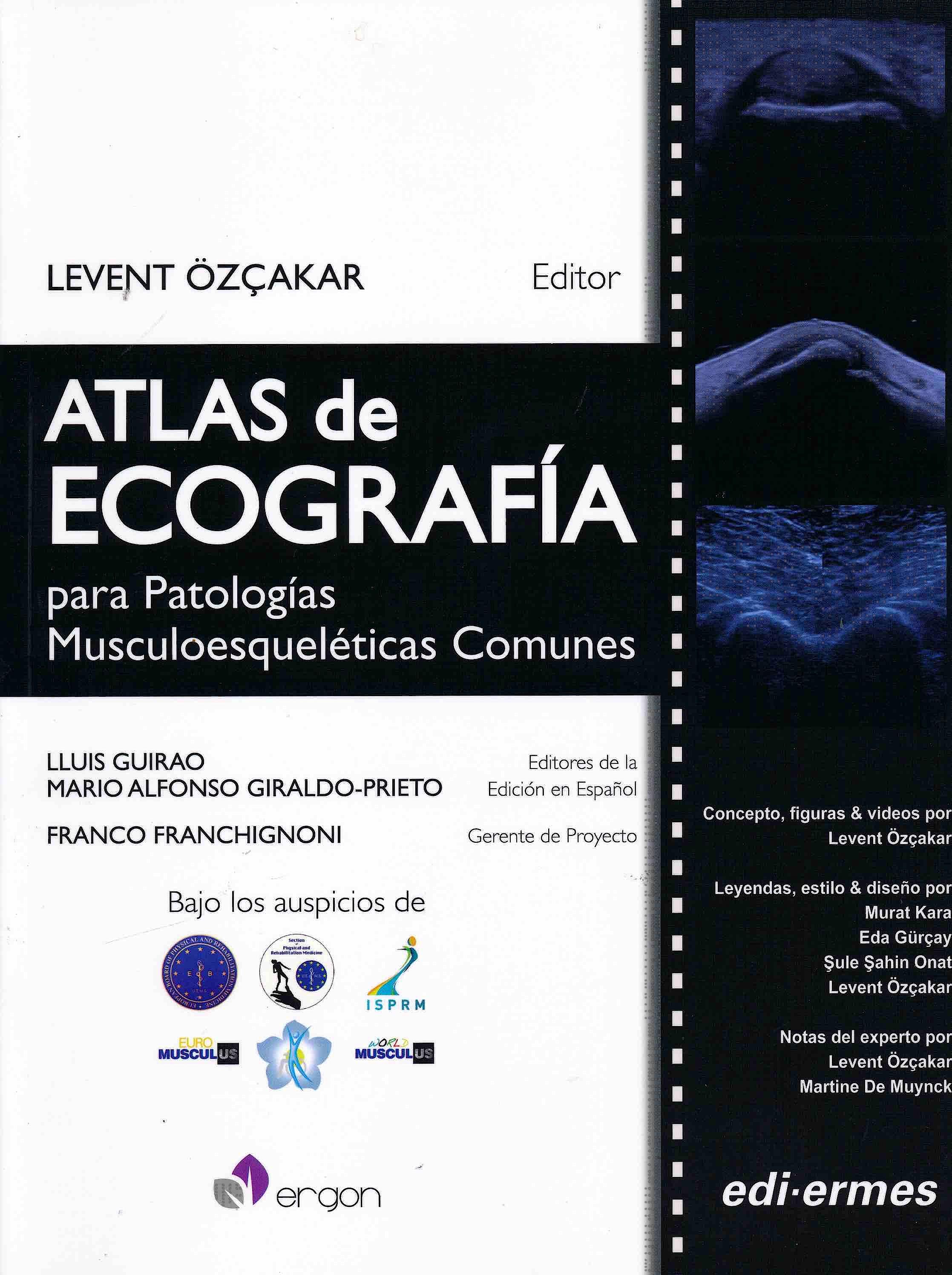 Portada del libro 9788870515787 Atlas de Ecografía para Patologías Musculoesqueléticas Comunes