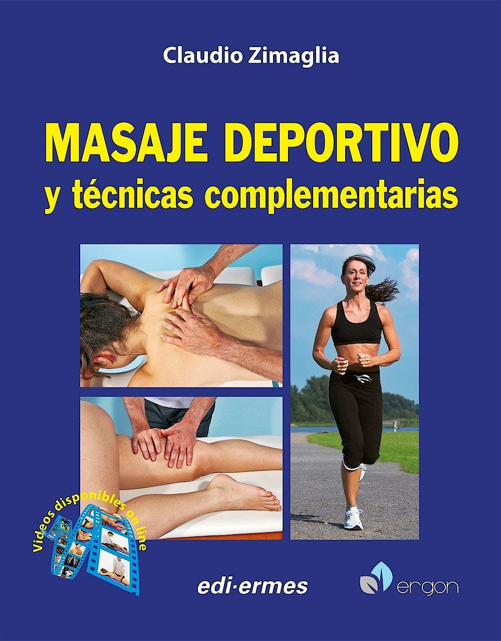 Portada del libro 9788870516067 Masaje Deportivo y Técnicas Complementarias + Videos Online