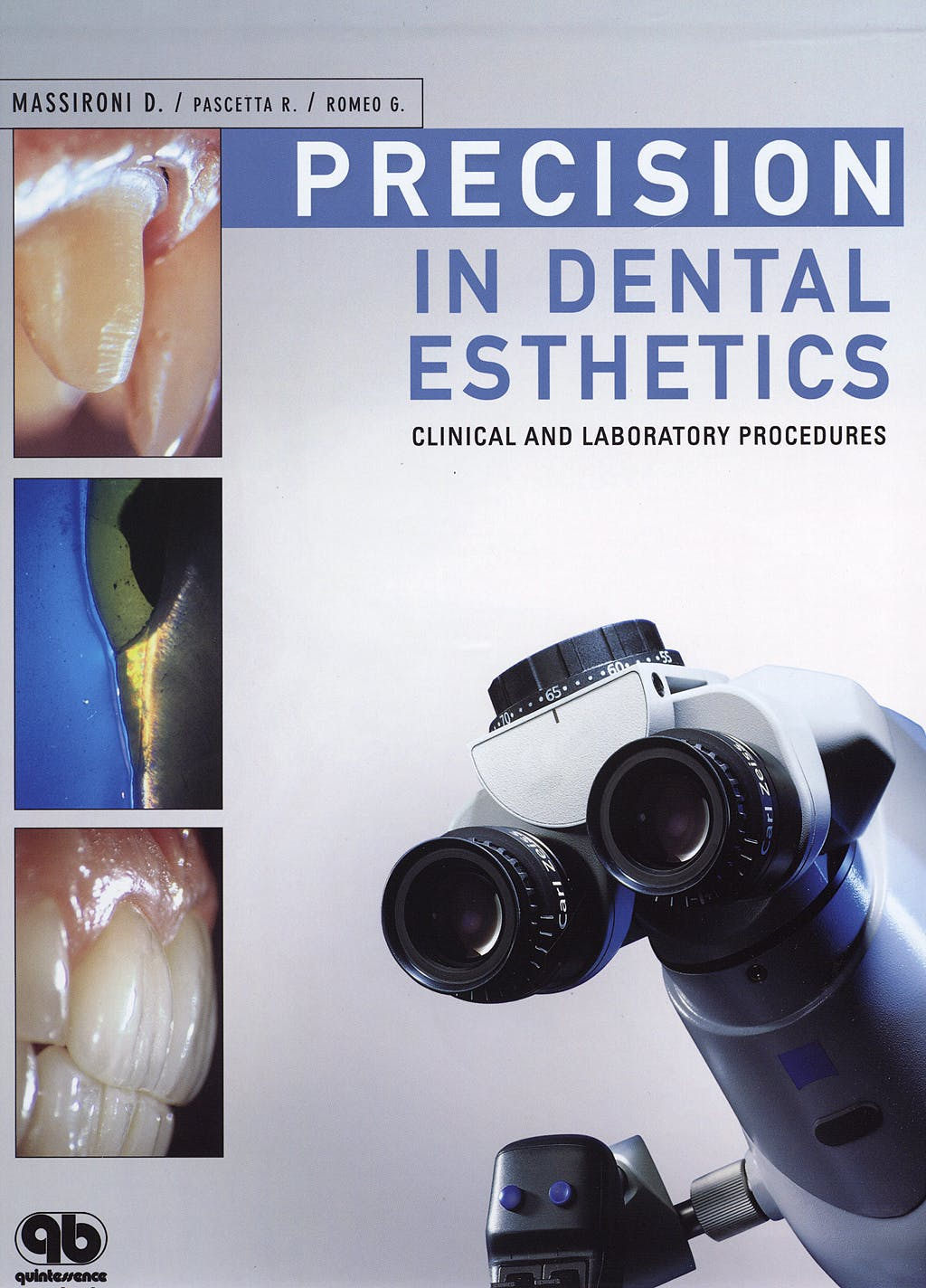 Portada del libro 9788874920112 Precision in Dental Esthetics