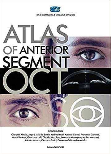 Portada del libro 9788897929871 Atlas of Anterior Segment OCT Vol. 1