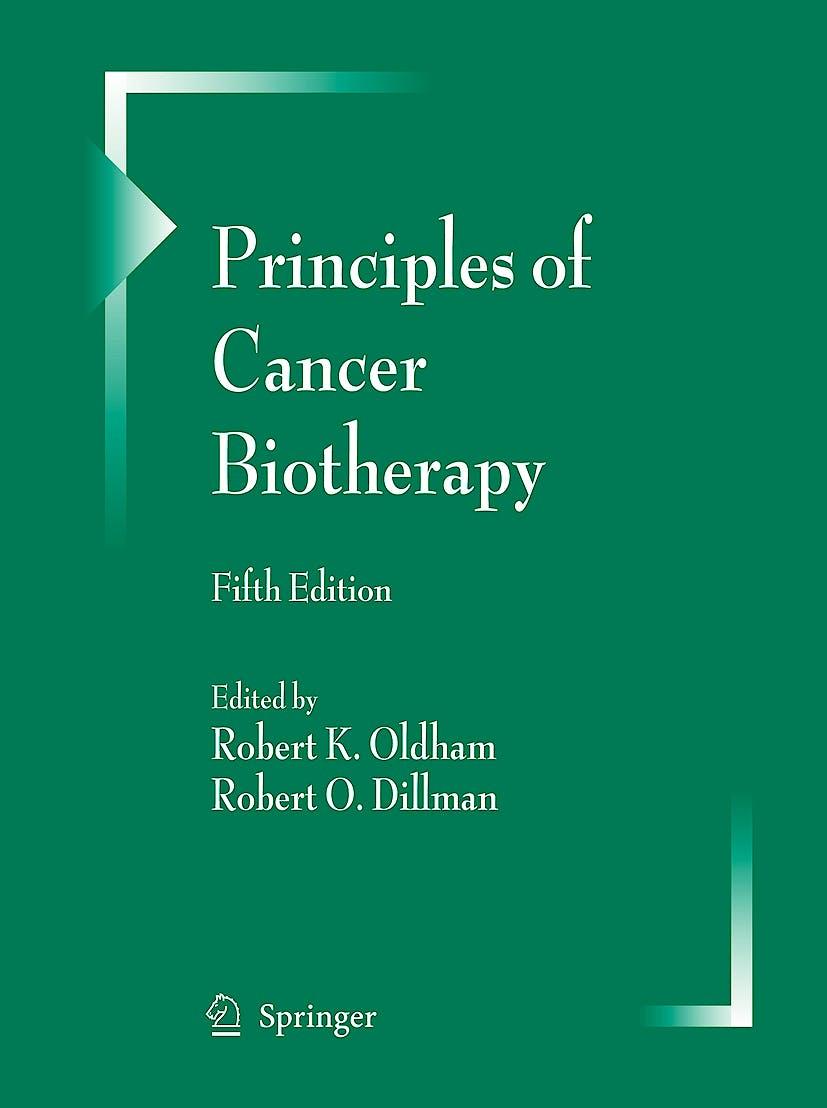 Portada del libro 9789048122776 Principles of Cancer Biotherapy