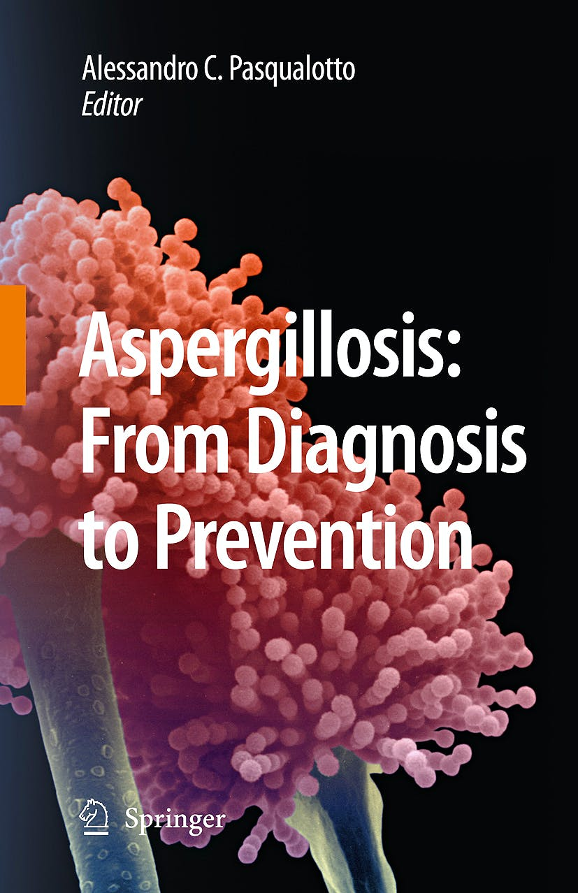 Portada del libro 9789048124077 Aspergillosis: From Diagnosis to Prevention