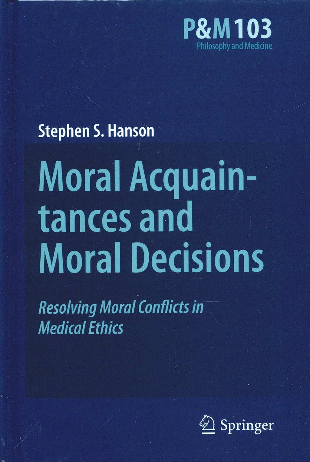 Portada del libro 9789048125074 Moral Acquaintances and Moral Decisions