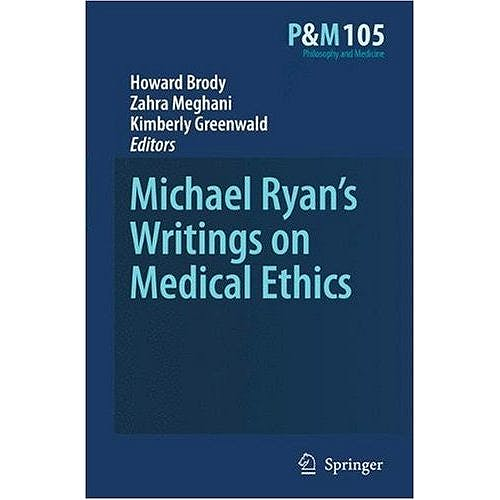 Portada del libro 9789048130481 Michael Ryan's Writings on Medical Ethics