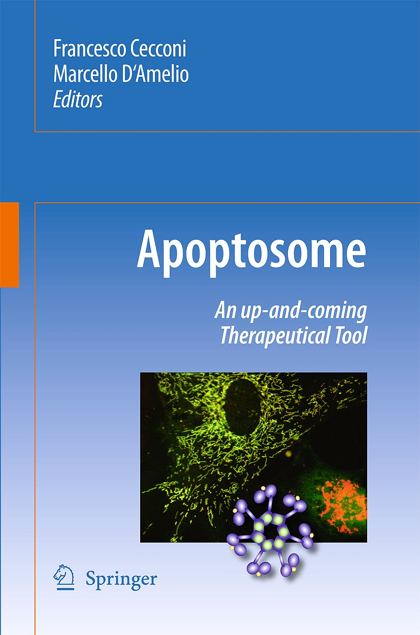 Portada del libro 9789048134144 Apoptosome. an Up-and-Coming Therapeutical Tool