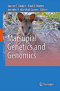 Portada del libro 9789048190225 Marsupial Genetics and Genomics