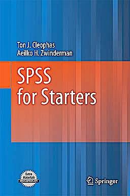 Portada del libro 9789048195183 Spss for Starters