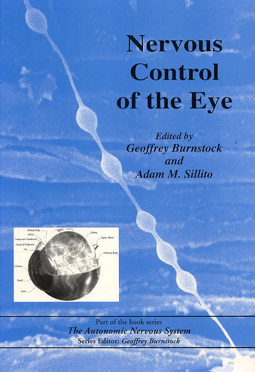 Portada del libro 9789058230188 Nervous Control of the Eye