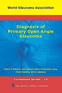 Portada del libro 9789062992621 Diagnosis of Primary Open Angle Glaucoma