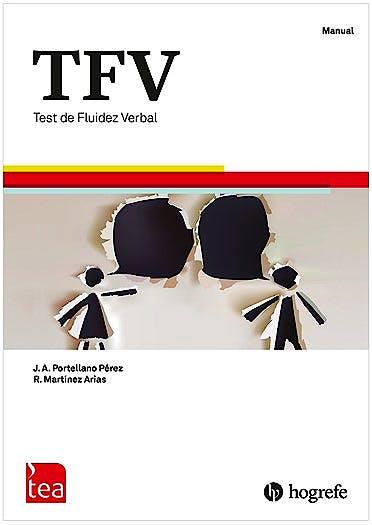 Portada del libro 9789188571014 TFV. Test de Fluidez Verbal. Juego Completo (Manual, Kit Corrección 25 usos)