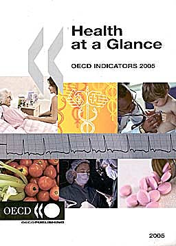 Portada del libro 9789264012622 Health at a Glance- Oecd Indicators 2005
