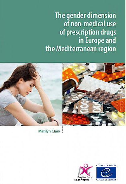 Portada del libro 9789287180216 The Gender Dimension of Non-Medical Use of Prescription Drugs in Europe and the Mediterranean Region (2015)