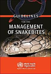 Portada del libro 9789290225300 Guidelines for the Management of Snakebites
